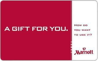 Marriott Gift Card